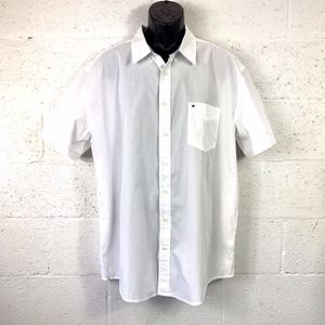 Tommy Hilfiger Classic Fit Button Down Shirt White